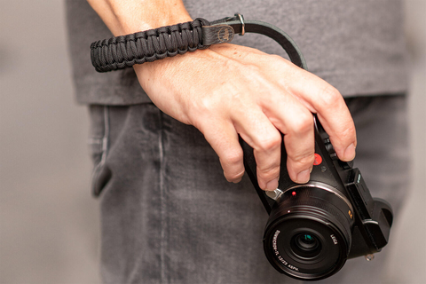 100 cm Black//Black Leica Paracord Strap COOPH