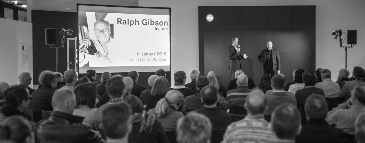 Ralph Gibson live at Leitz Park Wetzlar